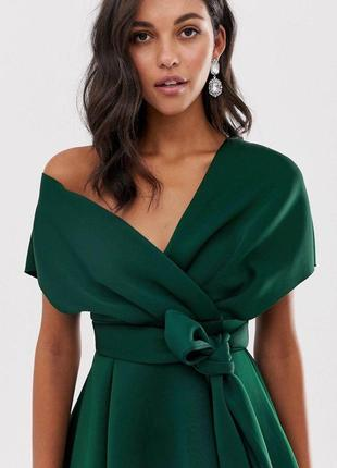 Новое зеленое платье asos