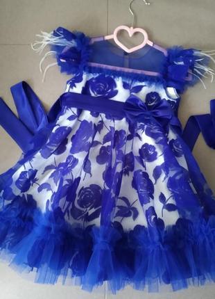 Нарядна сукня на дівчинку 95-100см