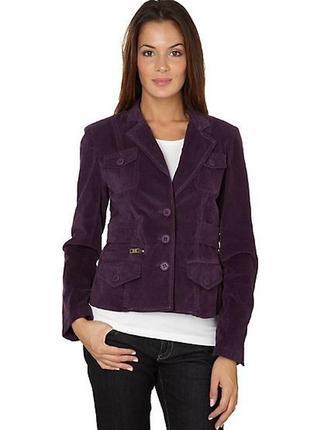 Оригинальный  велюровый пиджак phard