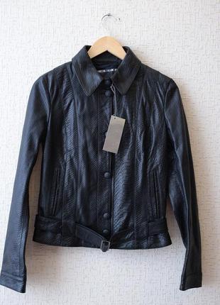 Кожаная куртка richmond x (италия) оригинал