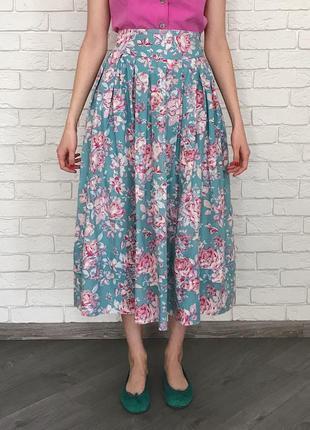 Винтажная юбка laura ashley