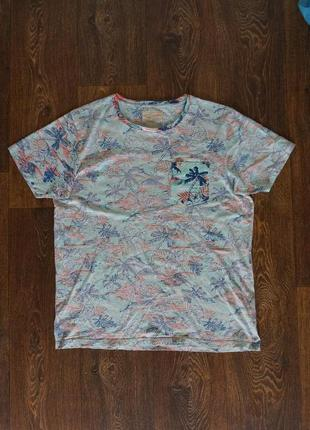 Мужская футболка jack&jones 100% котон