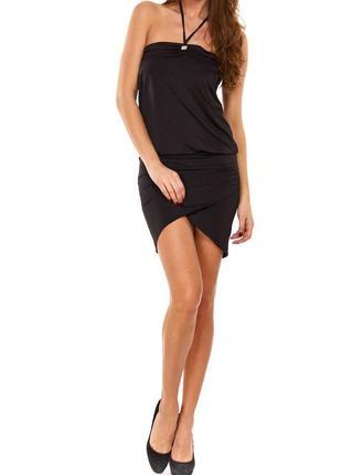 Стильное чёрное  платье phard