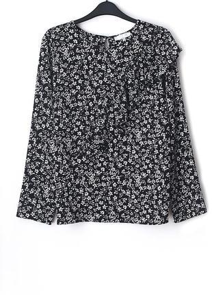 Блуза с ассиметричным воланом debenhams • р-р 14\42