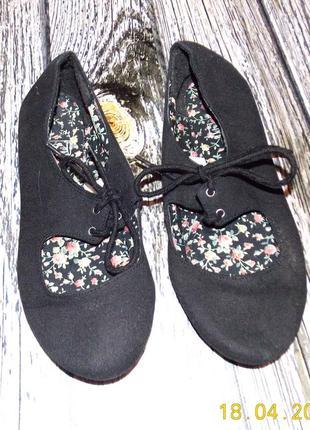 Гламурные туфли f&f для девушки, размер 4
