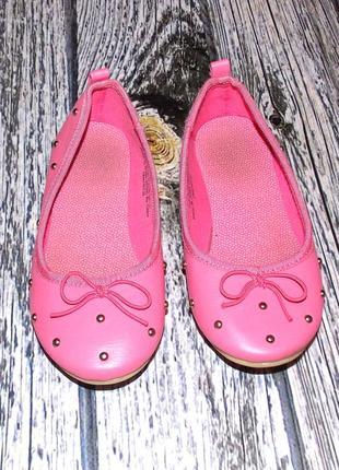 Фирменные туфли h&m для девочки , размер 29