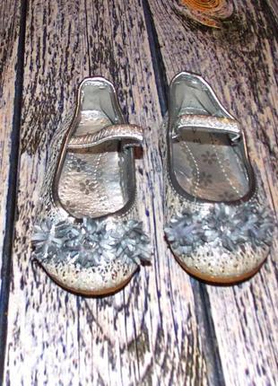 Гламурные туфли tu для девочки , размер 4