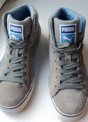 Высокие кроссовки puma р 35.5