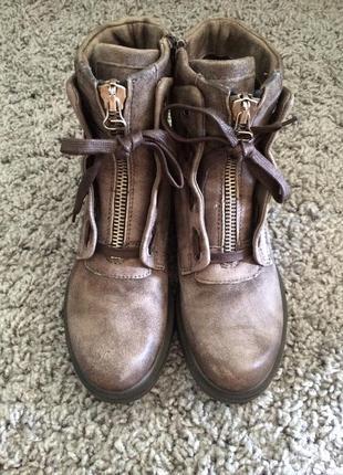 Ботинки сапоги mjus
