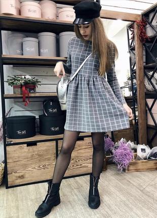 Платье в клетку украинского бренда!
