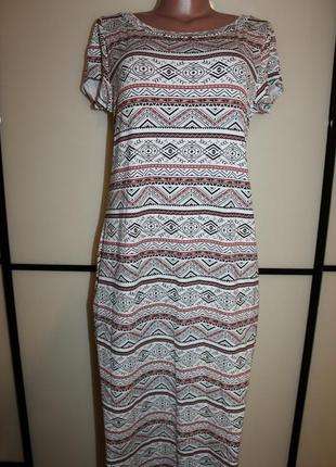 Новое трикотажное платье select uk 18, на 52 р