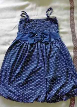 Літня сукня в горошок