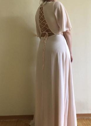 Платье на свадьбу или выпускной3 фото
