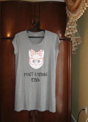 Ночная сорочка pep&co, хлопок, размер 12-14