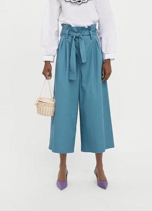 Zara кюлоты брюки