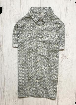 Мужская рубашка tu - цветочный принт