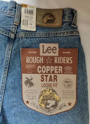 Винтажные джинсы vintage lee rough rider. w30l34