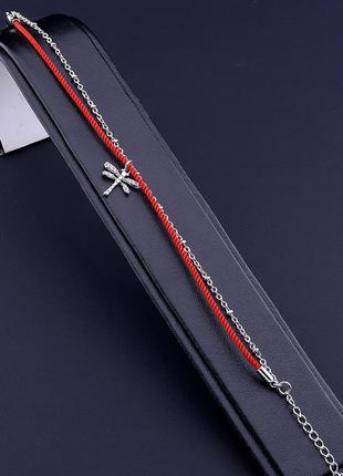 Браслет 'xuping' фианит 17 см. (родий) 0735080