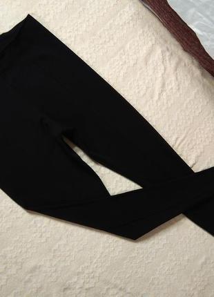 Стильные черные лосины леггинсы скинни h&m, l размер.