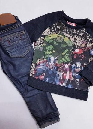 Комплект на 2-3 года (джинсы+кофточка)