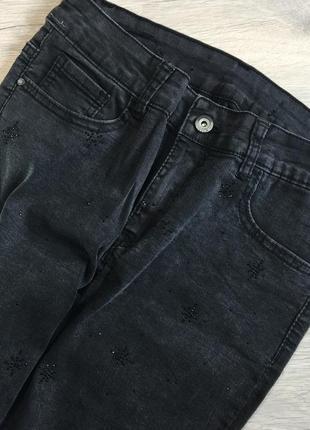 Джинсовые штаны4 фото