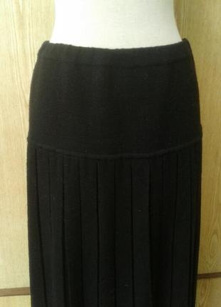 Черная плотная юбка , l - xl.3 фото