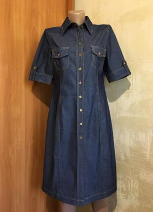Идеальное джинсовое платье,италия !!