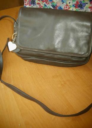 Стильная сумка/100%нат.кожа/nicoli