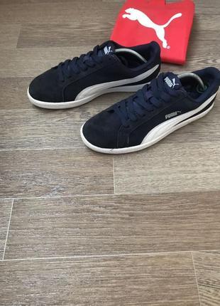 Puma кожаные кеды кроссовки