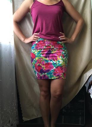 Мини юбка s-m