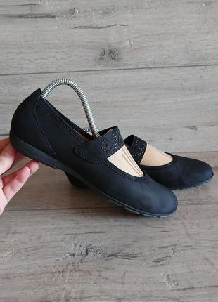 Балетки туфли габор  gabor hovercraft  6 р   39 р   25,5 см