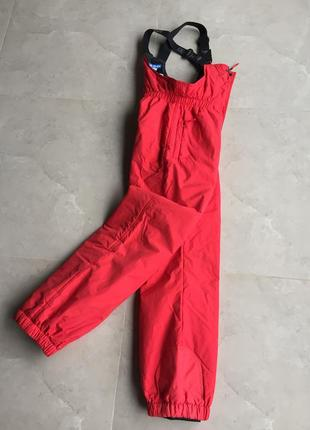 Зимние дутые лыжные штаны decathlon на девочку 16a, 174см, очень теплые, оригинал