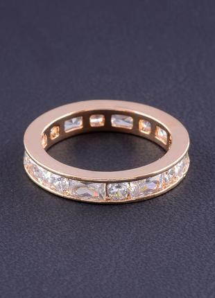 Кольцо 'big dipper' фианит (позолота 18к) 0558880