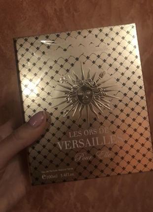 Нишевый парфюм les ors de versailles 100 ml
