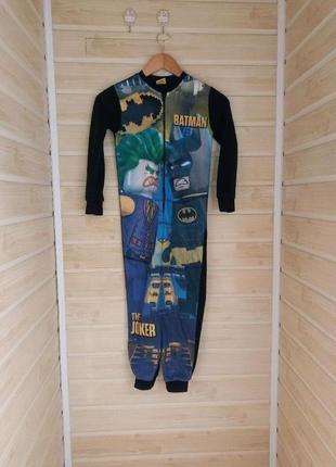 Слип пижама 7-8л бетмен lego