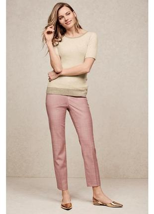Пудрові штани брюки next tailoring / пудровые штаны