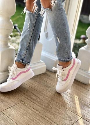 Белые кроссовки/ в стиле фила/наложка