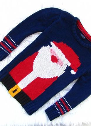 Стильный свитер кофта next santa