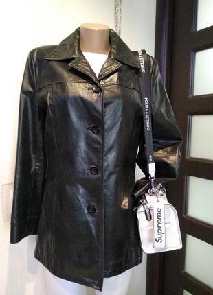 Крутой брэндовый пиджак жакет куртка из 100% кожи высокого качества