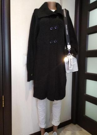 Отличный модный теплый кардиган кофта черный от happy d by damart