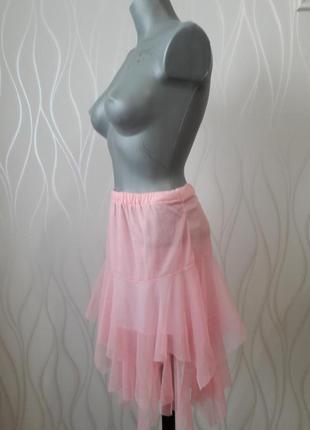 Изумительно красивая, нежная, легкая, летняя юбка розового цвета.
