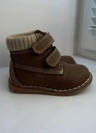 Новые деми ботиночки mothercare. размер 20, стелька 12,5 см.