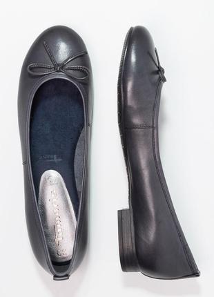 Tamaris кожаные туфли