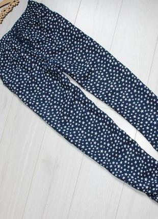 Легкие штаны брюки бананы для девочки 8-9 лет george
