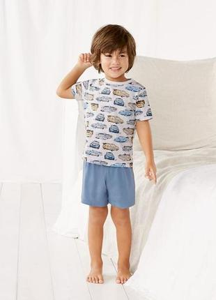 Комплект футболка и шорты, хлопок, 98-104, 110-116, германия