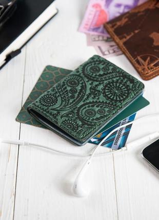 "Органайзер для документов  ( id паспорт ) / карт hi art ad-03 shabby alga ""buta art"""