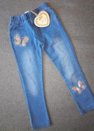 Лосины трикотажные под джинс