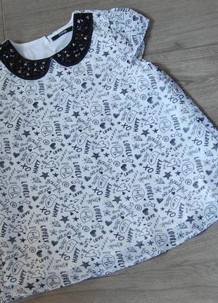Очень нежная блузка george на  10-11 лет