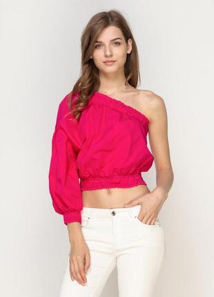 Блуза малиновая bershka