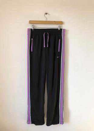 Спортивні штани / брюки с лампасами nike - s